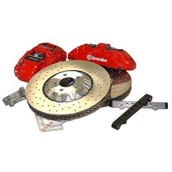 (2.3-5.2) Disc Brake Upgrade Kit - front&rear Orig. GT350R 15.5 inch